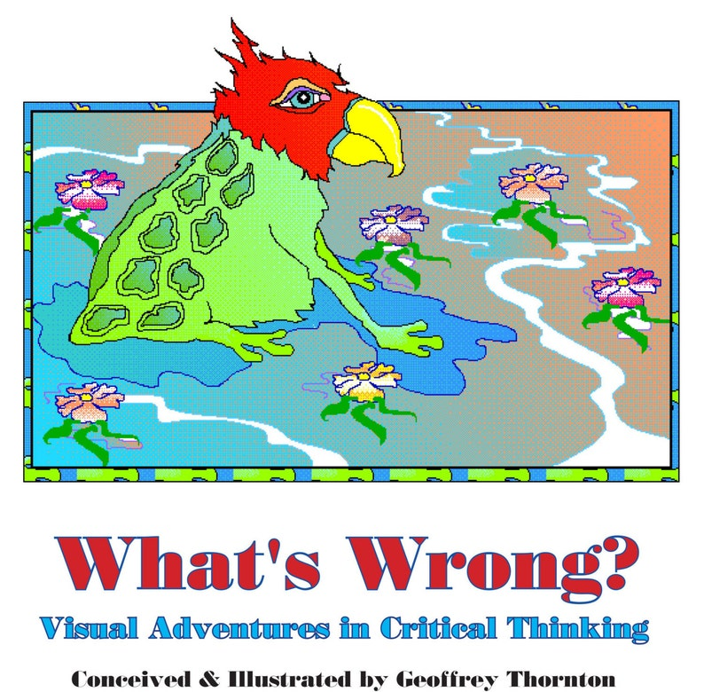 HARD COVER EDITION of What's Wrong... Visual Adventures in image 0