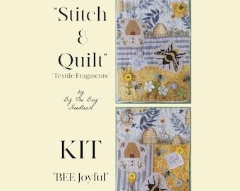 "BEE Joyful ""Stitch & Quilt Textile Fragments"""