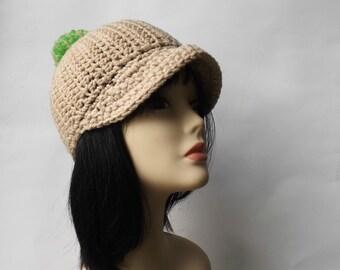 d8b00ee97ae Crochet pom pom cap