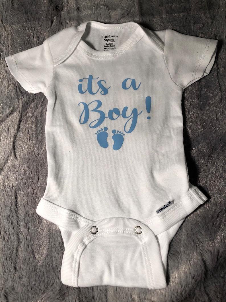 It/'s a boy onesie