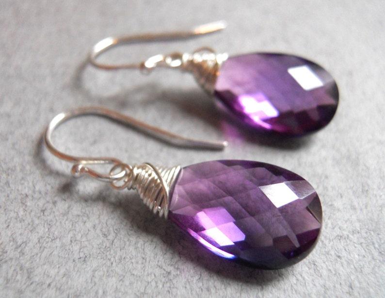 e06372edca7080 Kunzite Quartz Spiral Wrap Earrings Gemstone Earrings | Etsy