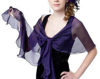 Plum Evening Shawls for Dresses