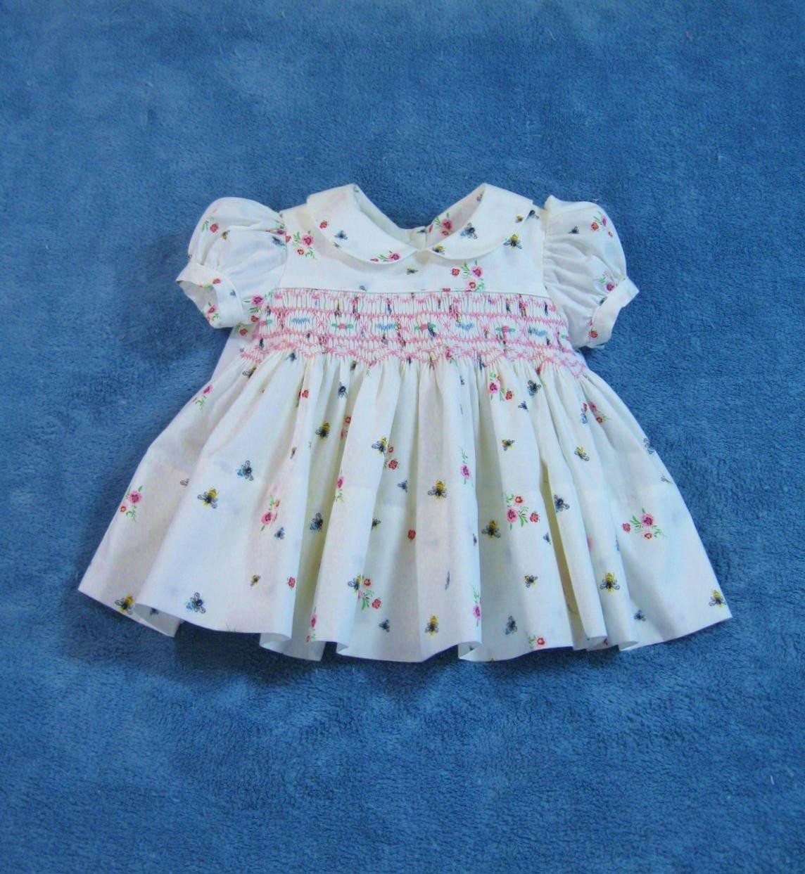 3f89a7e5fedc Hand Smocked Baby Girl Dresses | Saddha
