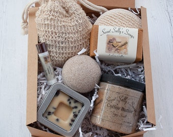 Coffee Self Care Spa Gift Set, for the Coffee Lover