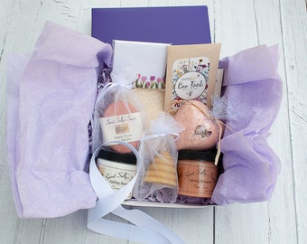 Mother's Day Gift Box, Selfcare Spa Gift Set for Mom