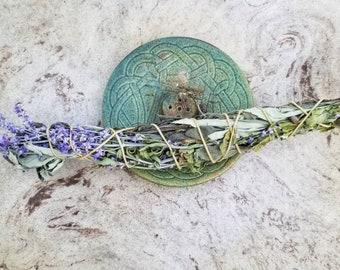 Three Sage (Russian Sage, Prairie Sage, and Garden Sage) Saining Smudge Bundles