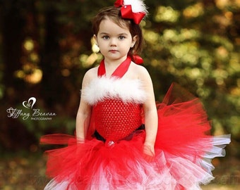 e7ea97c54c905 Mrs Claus Tutu Dress,Santa Baby Girl Costume,Santa Baby Tutu,Christmas Tutu  Dress,Girls Mrs Claus Costume,Mrs Claus Christmas Dress,Holiday