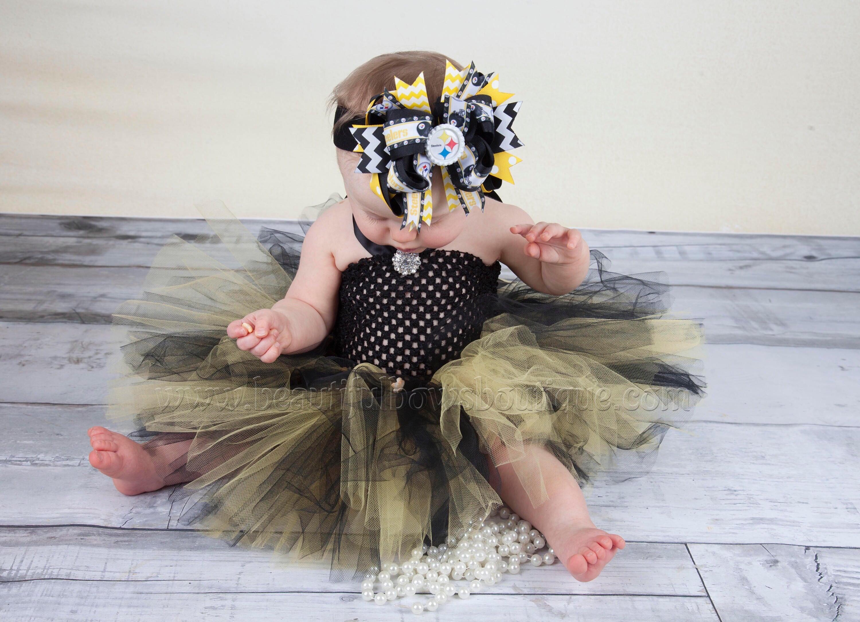 Pittsburgh Steelers Baby Tutu DressBlack and Yellow Tutu | Etsy