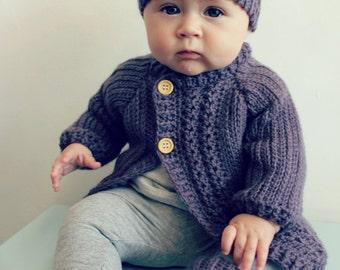 e8e96d626 Download Now CROCHET PATTERN Petite Rib Baby Cardigan