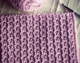 Download Now - CROCHET PATTERN Faux Cable Blanket or Scarf - Make to Any Size - Pattern PDF