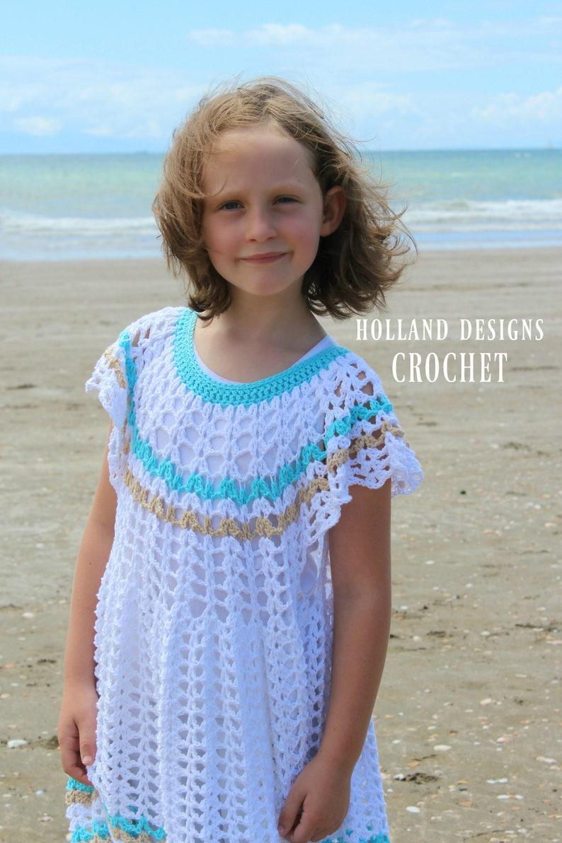8e2336614 Download Now CROCHET PATTERN Floaty Dress Sizes 6-12 mos