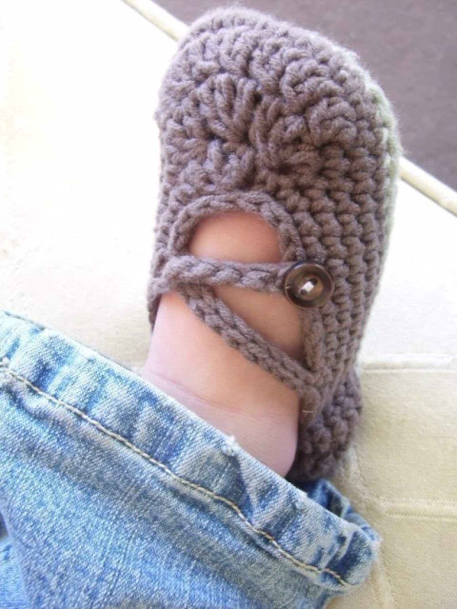 download now - crochet pattern cross-strap ballet flats - baby/toddler - pattern pdf