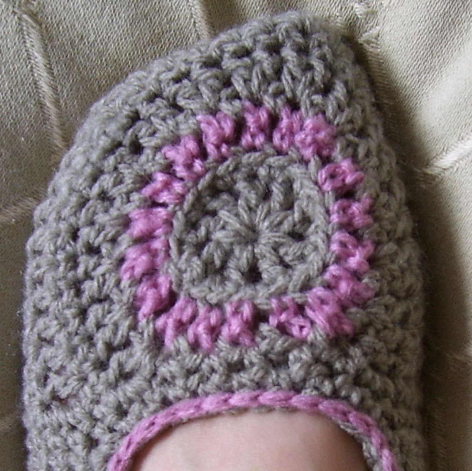 download now - crochet pattern spa of the moment ballet flats - pattern pdf