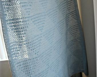 Download Now - CROCHET PATTERN Isosceles Blanket - Make to Any Size - Pattern PDF