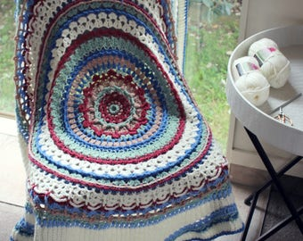 Download Now - CROCHET PATTERN Among the Stars Afghan - Pattern PDF