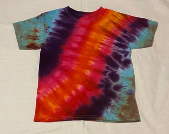 Tie Dye Cotton T-Shirt YOUTH Medium