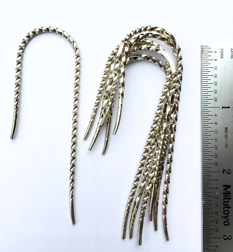 patent pending Size # 1 Fishhook Twisted Cable Needles