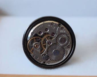 Tinkerer's cuffs - round