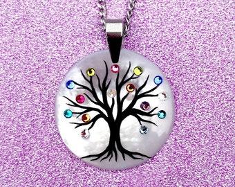 New Family Tree Necklace