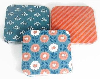 Mini Note Card Set  - Olivia Set of 15