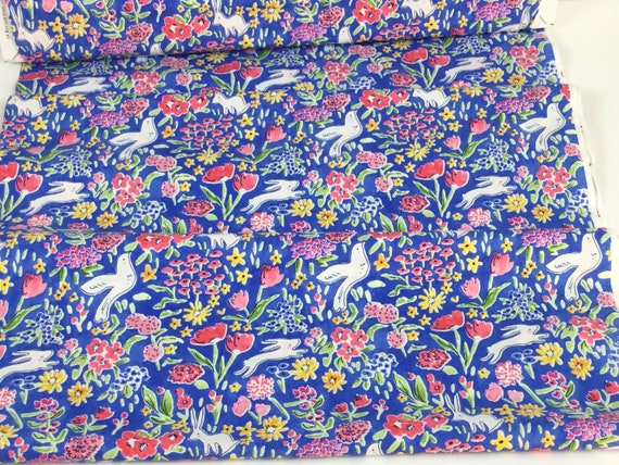 Painted Gingham Bloom Pink Michael Miller Fabric FQ More 100/% Cotton