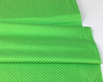 Pinhead Dot Fern Color Fabric  ~ Pinhead Dot Collection by Michael Miller Cotton Quilt Fabric