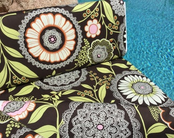 Amy Butler Lacework Fabric ~ fromLotus Collection by Amy Butler, Rare and Out of Print Cotton Quilt Fabric