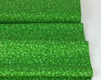 Grasshopper Color, Basically Patrick - Bubbly Collection, Quilting Mixers, Quilt Backing, Cotton Quilt Fabric