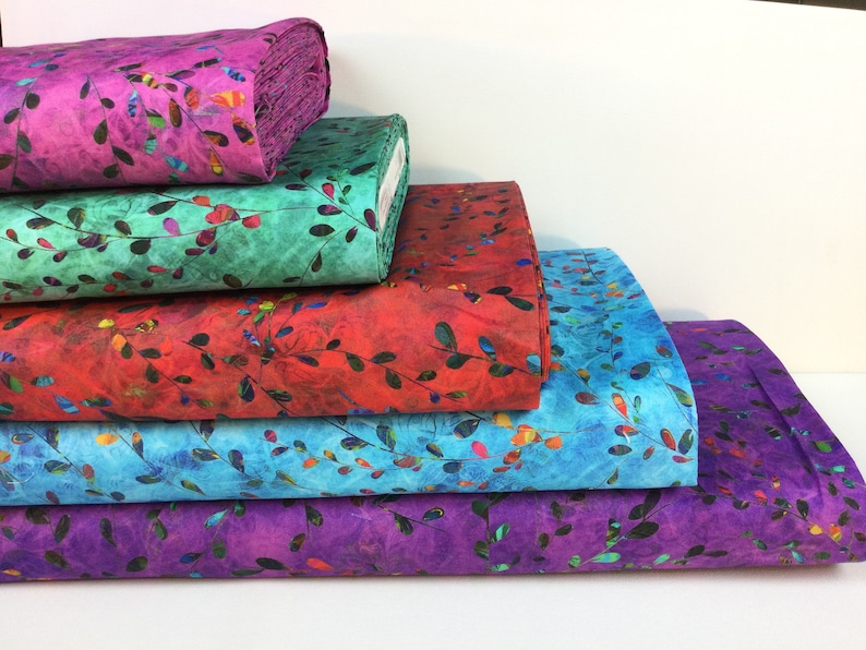 Floral Springs Fabric 6 colors  Venice Collection by image 0