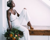 Wedding jumpsuit, wide leg jumpsuit, summer wedding, wedding reception outfit,