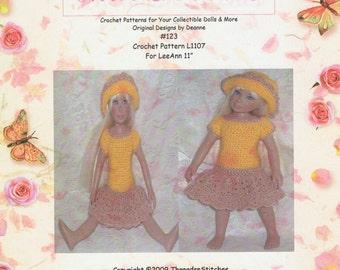 123 Crochet Pattern for  LeeAnn