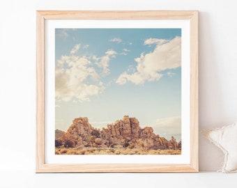 Joshua Tree Art, Desert Print, Boho Wall Decor, Palm Springs, Landscape Photograph, Gift for Dads, Office