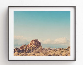 California Wall Art, Joshua Tree Photo, Desert Photography, Boho Decor, Palm Springs Artwork, Travel Print