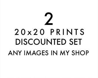 photography, 20x20 large wall art your choice custom discount print set, pets, Los Angeles San Francisco, Seattle, Portland, beach travel