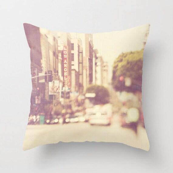 Los Angeles Home Decor: Los Angeles Throw Pillow Cover Urban Home Decor Loft Decor