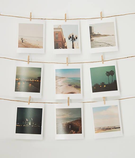 San Diego print set mini prints La Jolla Coronado Sunset | Etsy