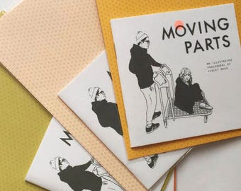 Moving Parts • Illustrated Zine