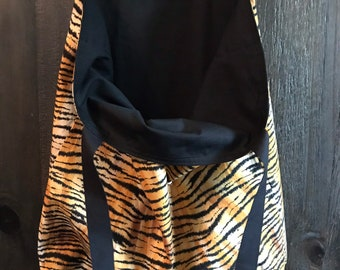 Animal print to the store..everyday ..reusable ..reversible ..washable ..shopping tote bag!