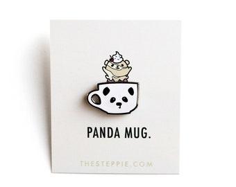 Panda Mug - Hard Enamel Pin