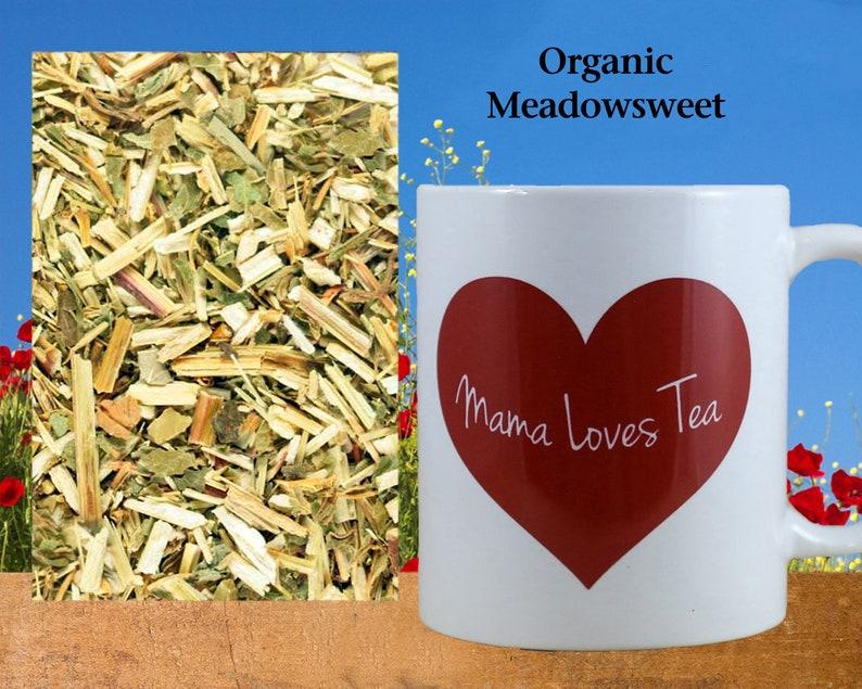 Organic Meadowsweet Herb Herb Tea Herbal Ingredient Food image 0
