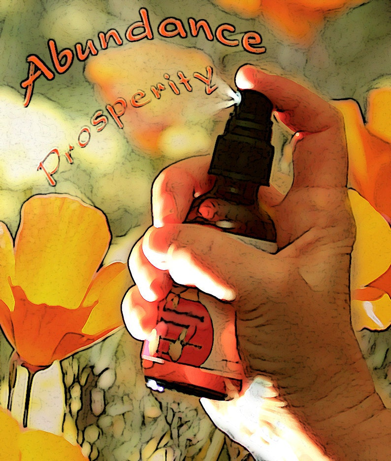 Abundant Prosperity Abundance Organic Flower Essence and image 0