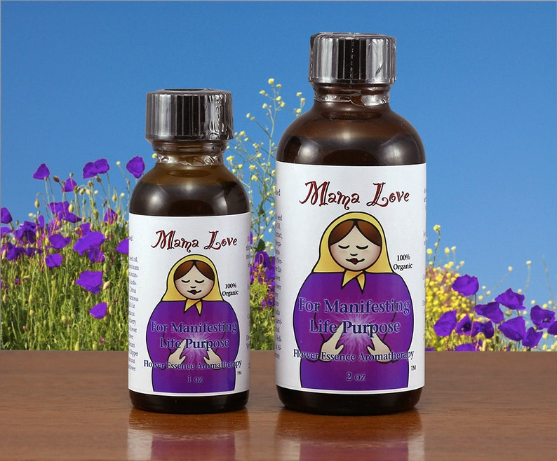 Life Purpose Organic Flower Essence and Aromatherapy Oil image 0