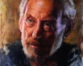Game of Thrones Fan Art Lord Tywin Lanister Original Oil Painting by Kristina Laurendi Havens