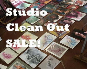 Art Package! Studio Clean Out SALE