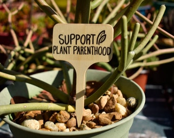 Protesting Plant Signs, Signs For Your Garden, Plant Sign