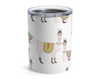 Lllama Coffee Tea Tumbler 10oz Mug