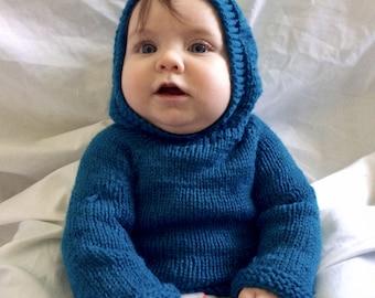 Bubble Wrap Baby Hat Knitting Pattern