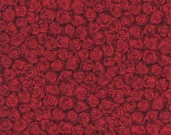 RJR Fabrics Hopscotch 3216 5 Scarlet Rose Grid By The Yard