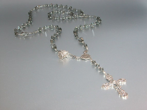 Swarovski Rosary Belt with Elegant Crucifix no.3  ee210757eb
