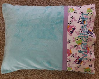 Personalized Minky Travel Pillows - Adult Travel Pillow - Travel Pillow - Personalized Pillow - Cheerleading Pillow - Pillow
